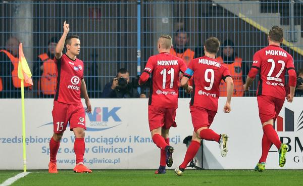 Cztery gole w Gliwicach, Piast uratował remis z Cracovią