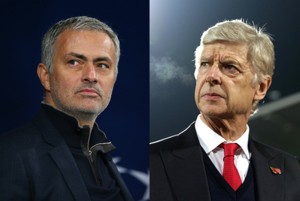 Mourinho kontra Wenger. Manchester United prowadzi z Arsenalem! [VIDEO]