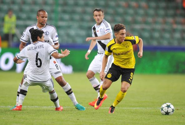Szwed sędzią meczu Borussii Dortmund z Legią Warszawa