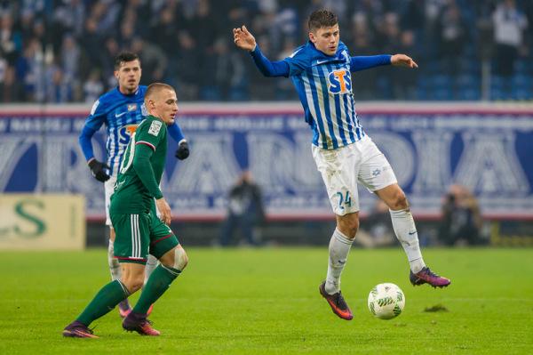 Robak: Lech potrzebuje zwycięstw, a ja bramek