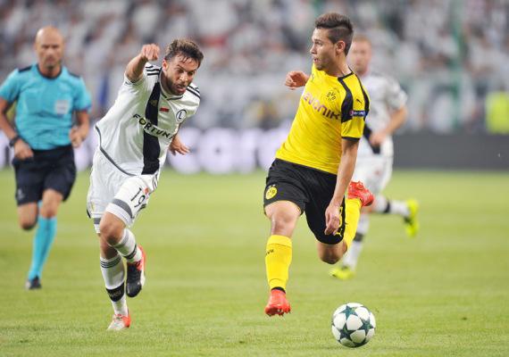 Piłkarz Borussii: Legia była zupełnie inną drużyną niż w pierwszym meczu