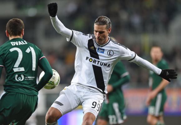 Prijović: Mamy najlepszą drużynę w Ekstraklasie