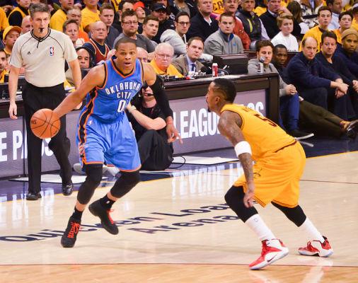Wizards przegrali z Thunder, triple-double Russella Westbrooka