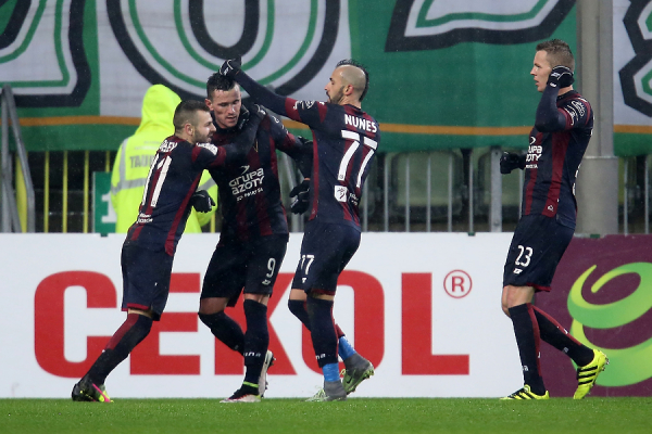 Piłkarz Pogoni: We Wrocławiu chcemy wygrać