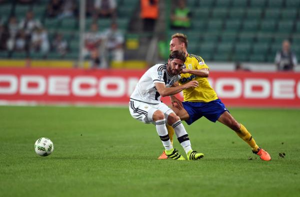 Legia rozwiązała kontrakt z Vranjesem