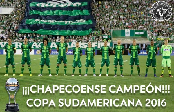 Oficjalnie: Chapecoense z pucharem Copa Sudamericana