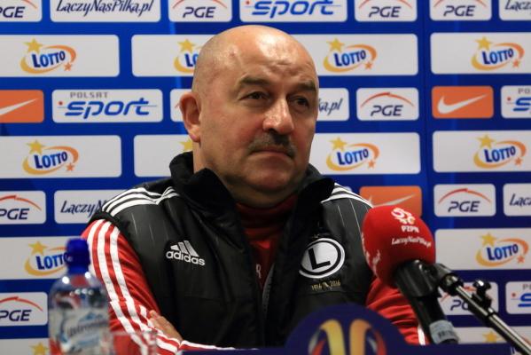 Czerczesow obejrzy mecz Legii ze Sportingiem