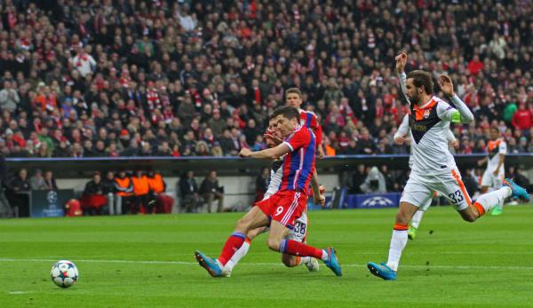 Lewandowski trzeci w klasyfikacji strzelców Ligi Mistrzów