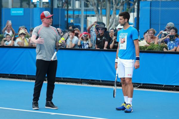 Novak Djoković zwolnił Beckera