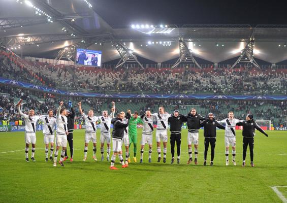 Legia zarobiła wielkie pieniądze na grze w Lidze Mistrzów