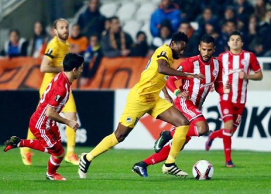 LE: APOEL ograł Olympiakos i wygrał grupę B