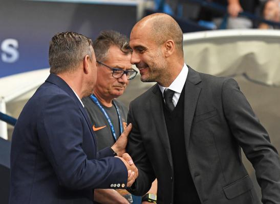 Guardiola: Leicester City to nadal bardzo dobry zespół