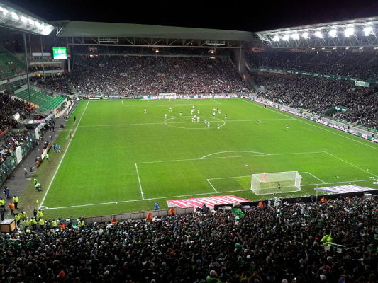 AS Saint-Etienne wygrało z EA Guingamp