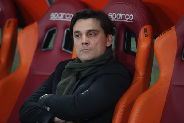 Montella: Jestem zadowolony z gry Milanu