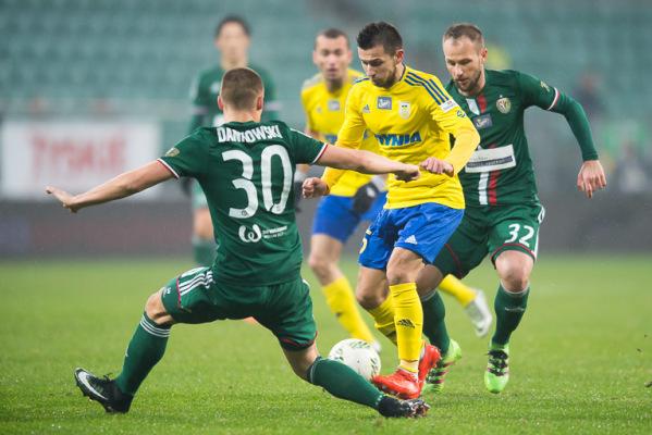 Gracz Śląska: To był typowy mecz na remis
