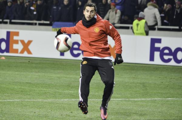 Henrich Mchitarjan piłkarzem roku w Armenii
