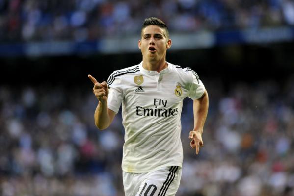 Juventus chce kupić Jamesa Rodrigueza
