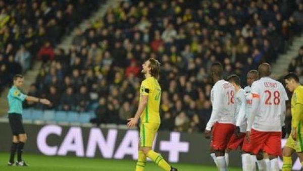 Nantes przegrywa w pucharze, Stępińskie grał do 67 minuty