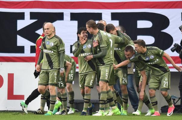 Legia Warszawa wygrała w Płocku z Wisłą