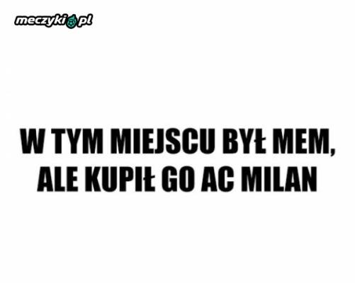 Milan wszystko kupuje