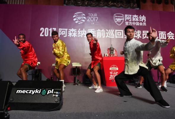 Piłkarze Arsenalu w Szanghaju