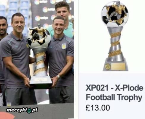 Aston Villa wygrała wyjątkowo drogi puchar