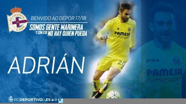 Adrian Lopez zagra w Deportivo La Coruna
