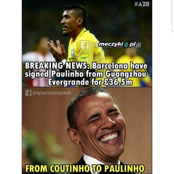 Od Coutinho do Paulinho