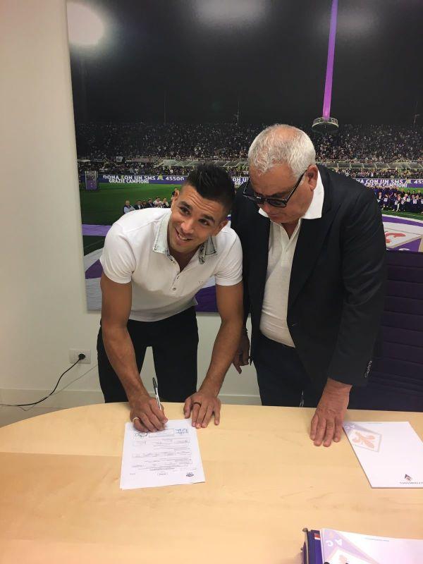 Giovanni Simeone zawodnikiem ACF Fiorentiny