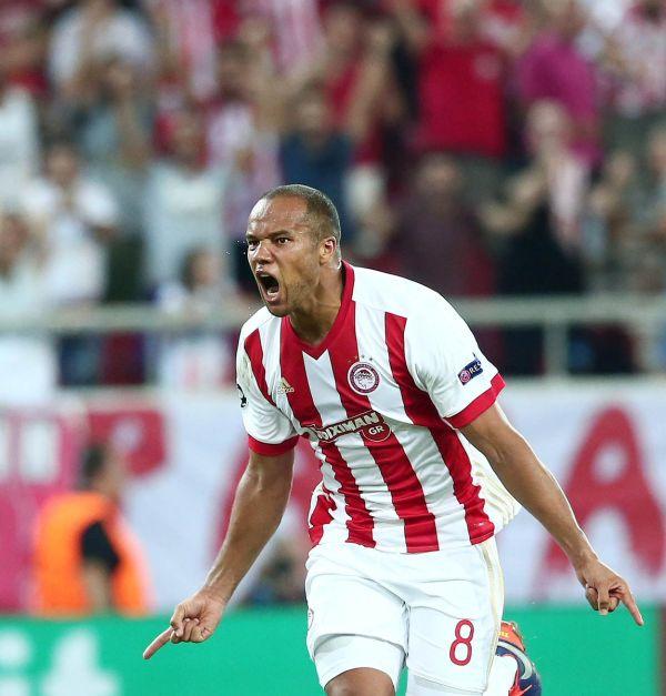 Odjidja-Ofoe strzela dla Olympiakosu! Grecki klub walczy o Ligę Mistrzów [VIDEO]