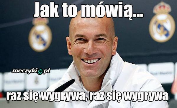 Ulubione powiedzenie Zidane