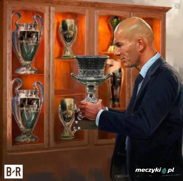 Zidane i jego 7 trofeum
