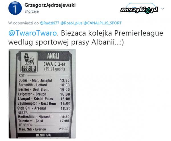 Premier League po albańsku