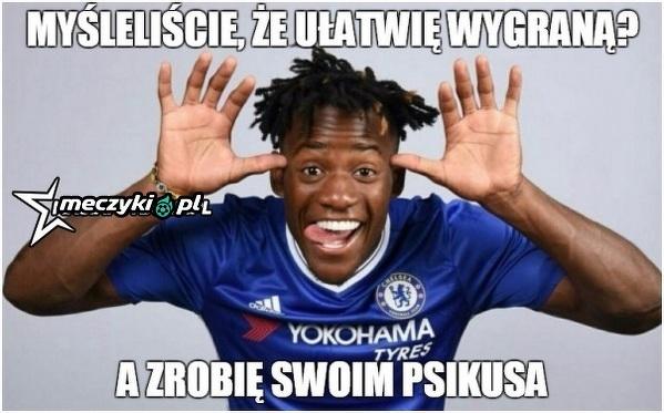 Zawodnik Chelsea postanowił kolegom utrudnić zadanie
