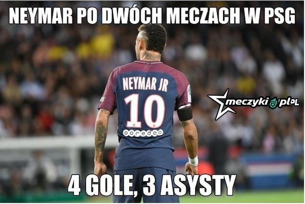 Neymar dobrze się czuje w PSG