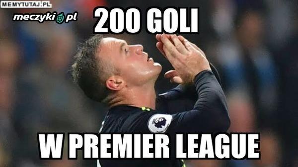 Dorobek strzelecki Rooneya w PL