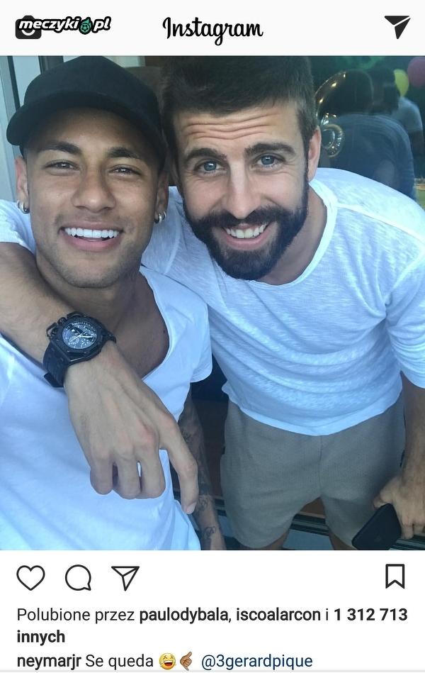 Tymczasem na Instagramie Neymara