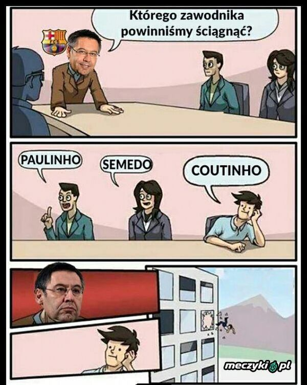 Tymczasem narady transferowe w Barcelonie