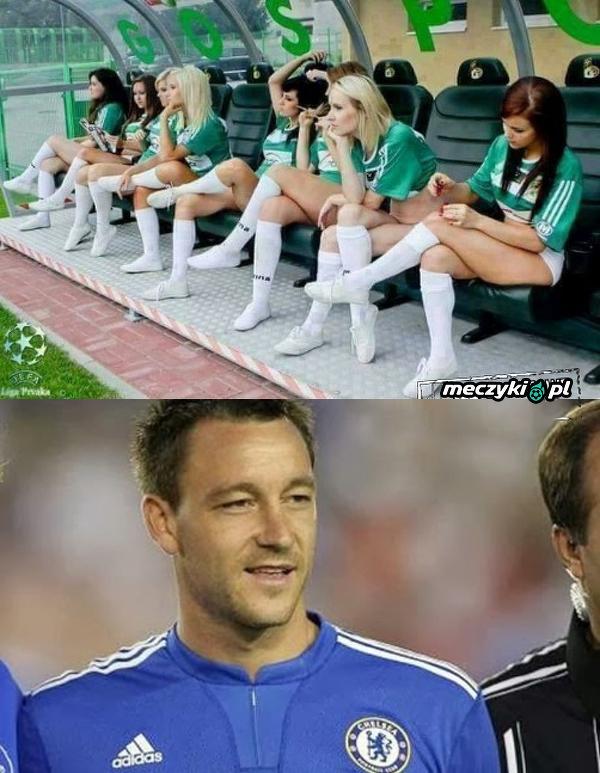 Terry chciałby być rezerwowym