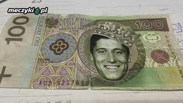 W Poznaniu gość zapłacił takim banknotem :)