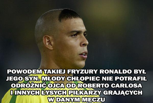 Geneza Fryzury Brazylijskiego Ronaldo Sportbuzz Meczykipl