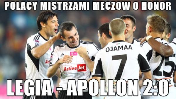 Wygrana Legii Warszawa