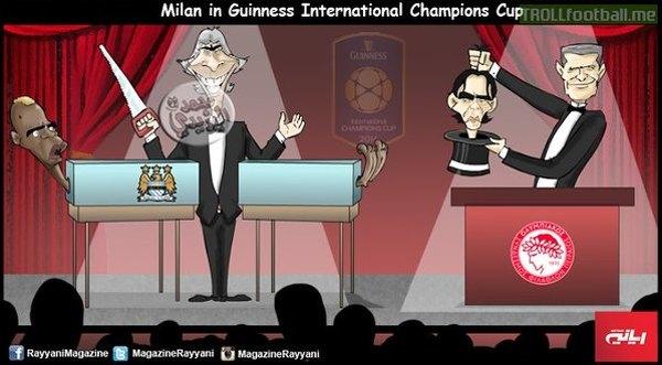 Milan w International Champions Cup