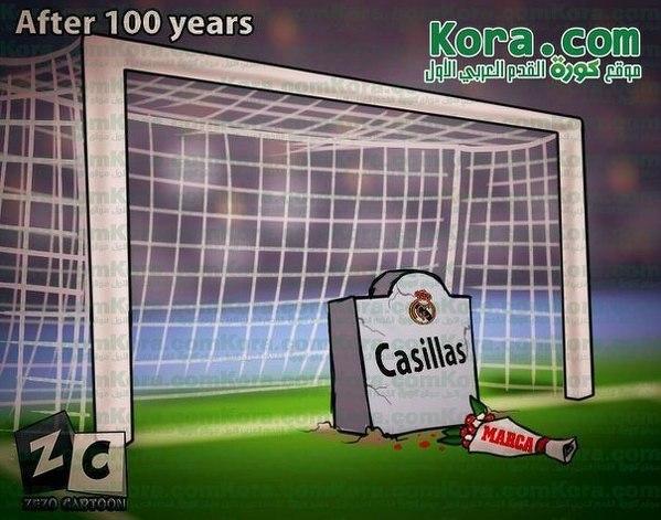 Obsada bramki Realu za 100 lat