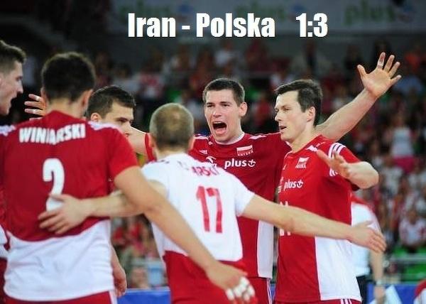 Siatkarze wygrali w Iranie
