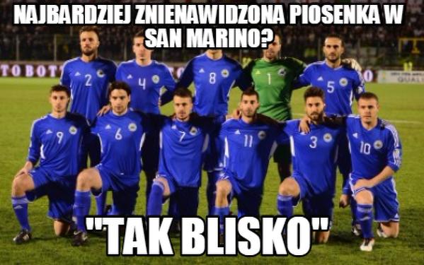 Najbardziej znienawidzona piosenka w San Marino?
