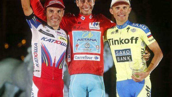 Rafał Majka zakończył Vuelta a Espana na trzecim miejscu