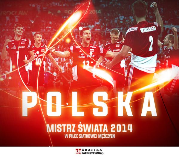 Dziękujemy naszym Mistrzom za świetny Puchar Świata, zabrakło seta