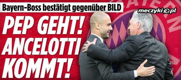 Ancelotti będzie trenerem Bayernu