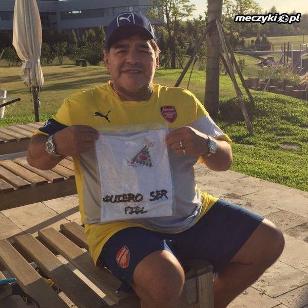 Maradona fanem Arsenalu?